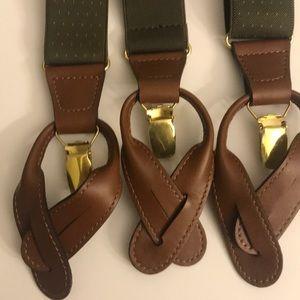 Other - Men's Suspenders button NWT BOGO